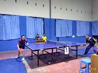 Petenis Meja se Kalsel-Teng Ikut Kejuaraan Tenis Meja Raja  Cup I