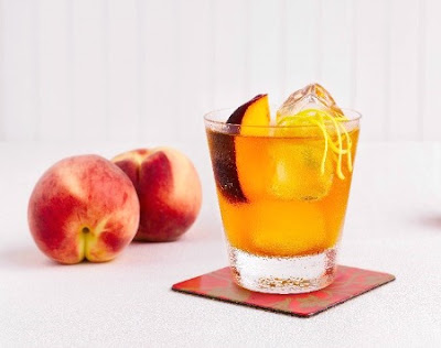 Whiskey Peach Pit Pie Cocktail Recipe