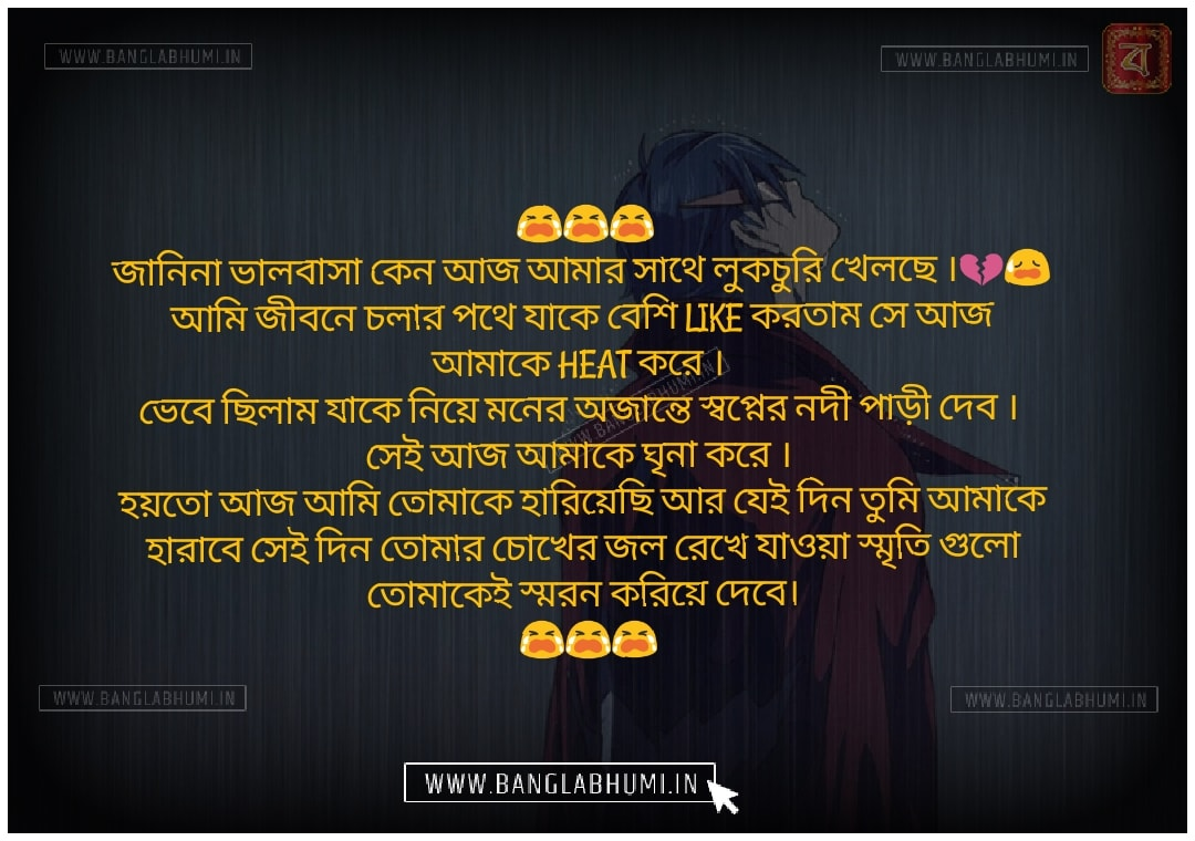 Whatsapp & Facebook Bangla Sad Love Status share