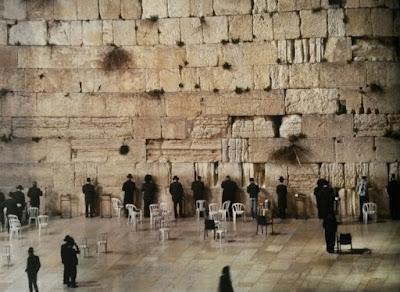 Muro de las Lamentaciones en Jerusalen
