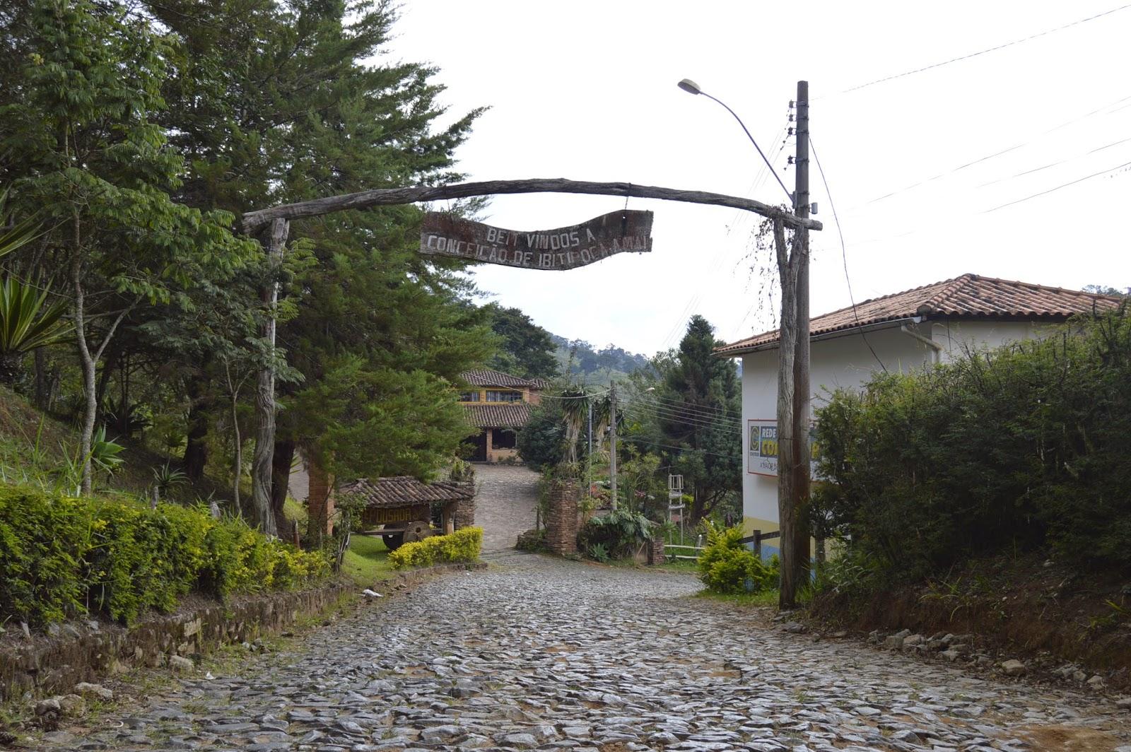 Entrada da Vila de Conceição do Ibitipoca