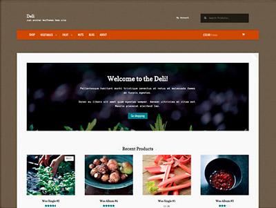 Deli, theme gratuito de Wordpress para eCommerce