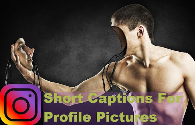 Creative Attitude Short Captions For Profile Pictures For Facebook and Instagram