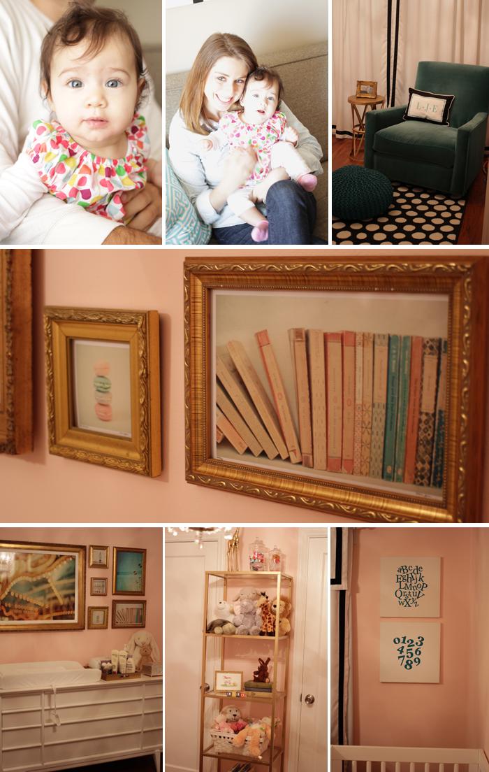 Beautiful Modern Pink Nursery