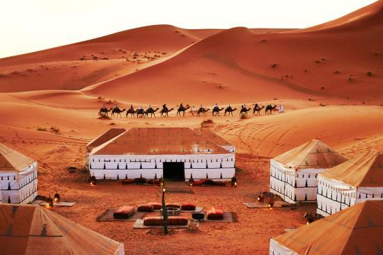 4 Days Marrakech to Fes desert tour