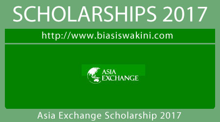 Asia Exchange Scholarship 2017
