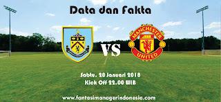 Data dan Fakta Fantasy Premier League Burnley vs Manchester United Fantasi Manager Indonesia