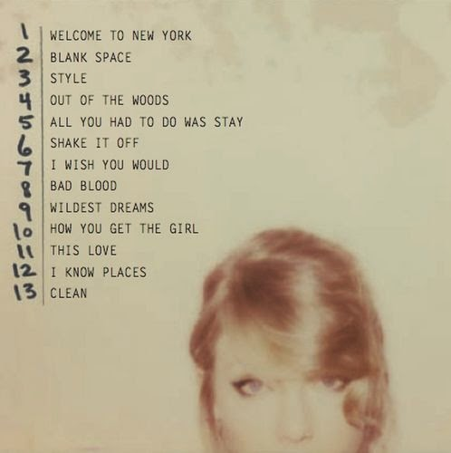 Taylor Swift new album titled 1989