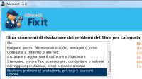 Versione portatile di Microsoft Fixit in italiano per risolvere errori di Windows