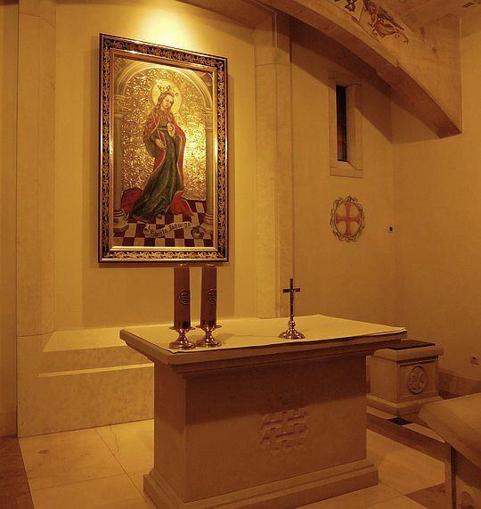Kaplica św. Królowej Jadwigi.