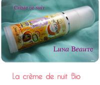 Crème de nuit Luna beauté