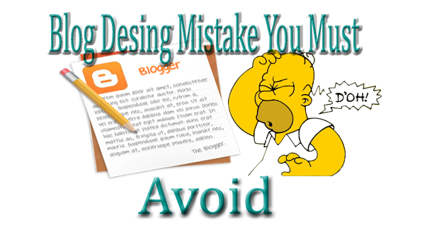 avoid blog desing mistake