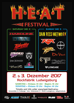 FM at H.E.A.T. Festival - 3 Dec 2017 - poster