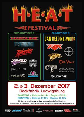 FM at H.E.A.T. Festival - 3 Dec 2017 - poster