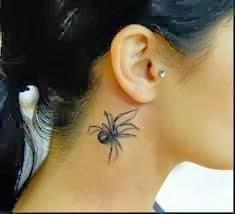Tattoo Design For Girls Neck
