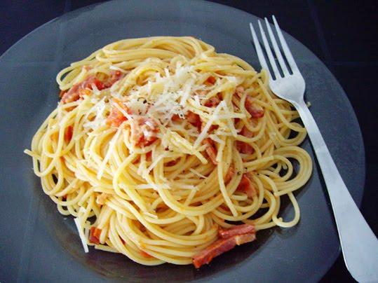 espaguetis a la matriciana