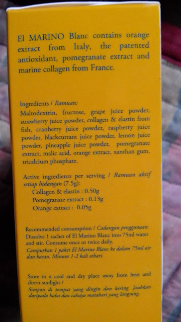 Elken El Marino Blanc Ingredients: