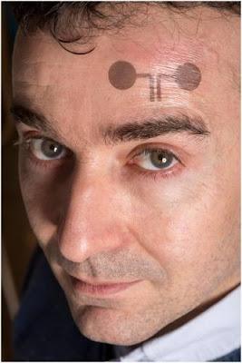Electrodos para examen médico en forma de tatuaje temporal