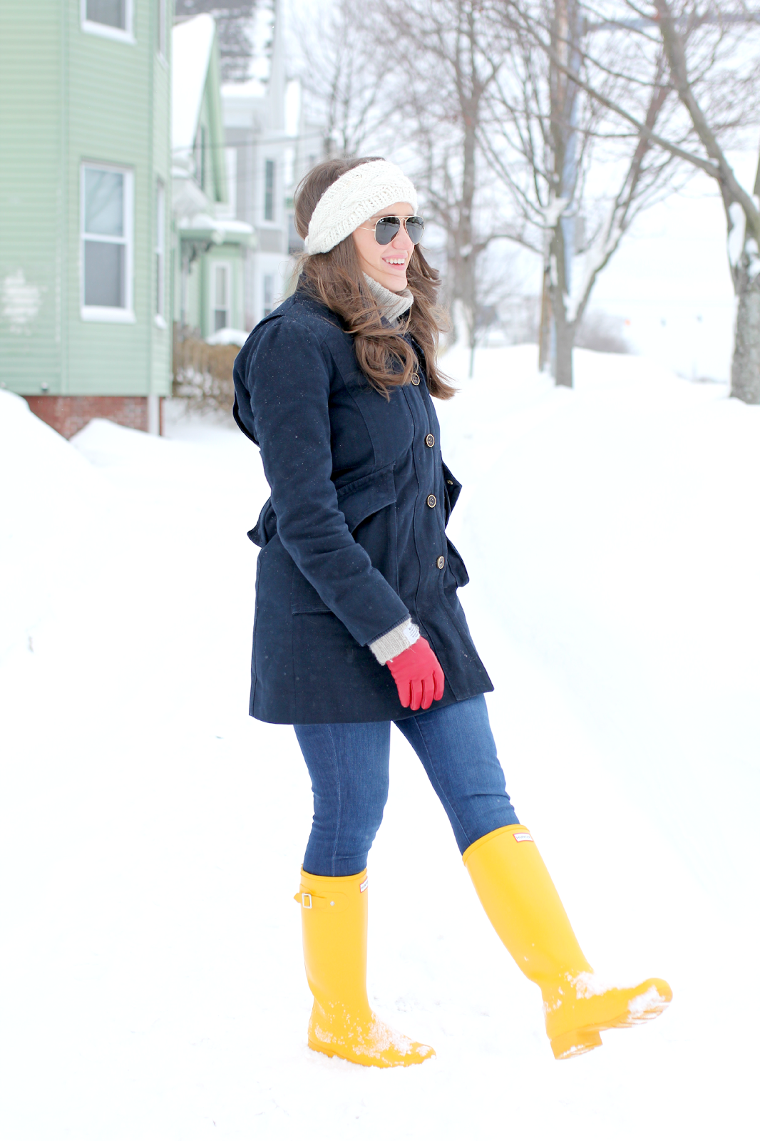 Yellow Hunter Rain Boots | Covering the Bases | Fashion and Travel ...