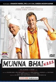 Poster Of Munna Bhai M.B.B.S. 2003 720p Hindi DVDRip Full Movie Download