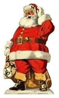 Papai Noel e os presentes. Revista Lar Cristão, nº 16, edição especial de Natal, dezembro de 2012, página 26 (Sociedade Religiosa Lar Cristão).