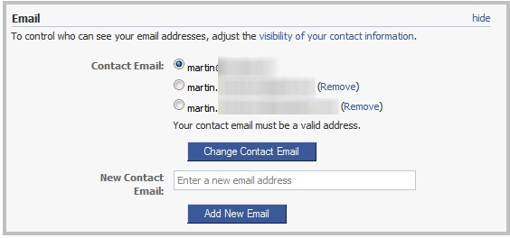 How Do I Change My Facebook Email