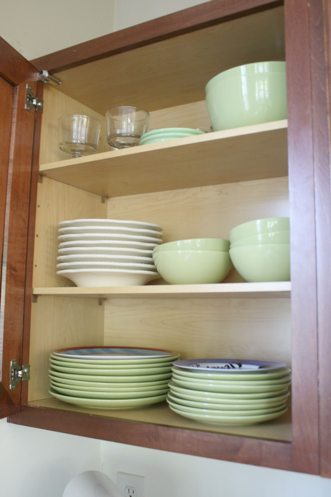 green ikea dishes