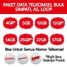 Daftar Harga Paket Telkomsel Data Bulk Murah Kios Pulsa