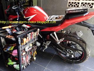 Cara pasang alarm motor pada Honda CBR150r New LED