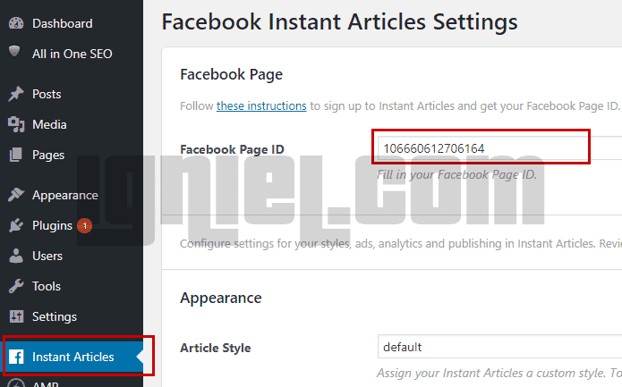 Cara Install Plugin Instant Articles Facebook Di Wordpress