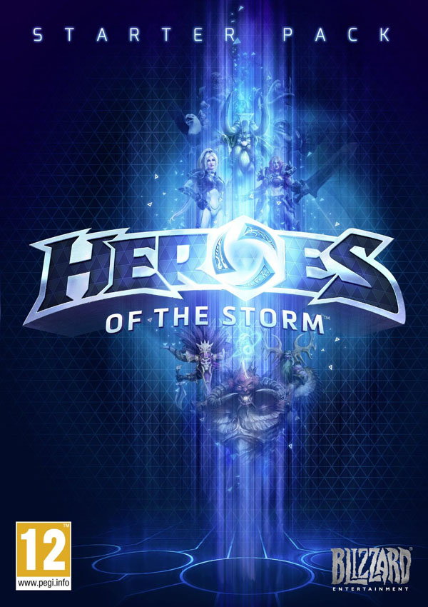 Heroes Of the Storm Alpha Download Cover Free Game