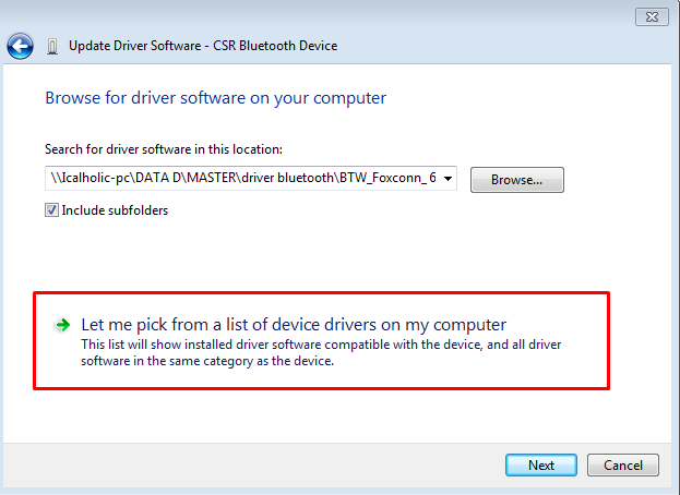 Driver Bluetooth CSR Dongle/Cara Install Bluettoh CSR