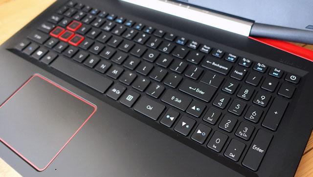 teclado e touchpad acer vx5