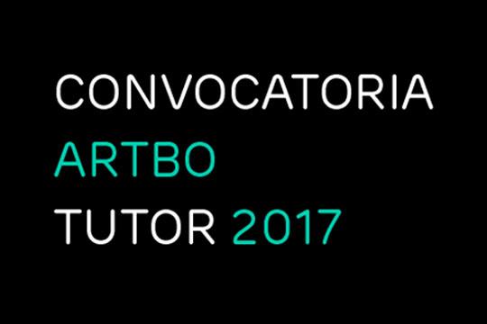 Convocatoria de arte. ARTBO Tutor 2017