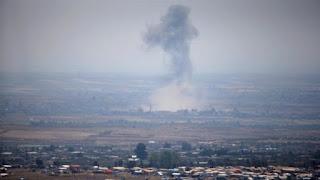 Setelah Daraa Kini Nawa Dibombardir Rezim Syiah Assad