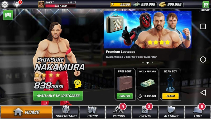 wwe mayhem game for android & ios