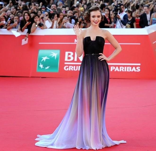 Blog de la Tele: Lily Collins deslumbra en Festival de ...