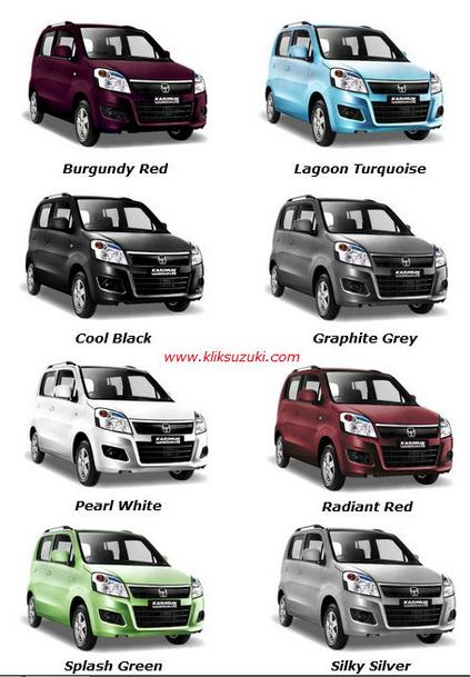 Suzuki Karimun Wagon R pilihan warna