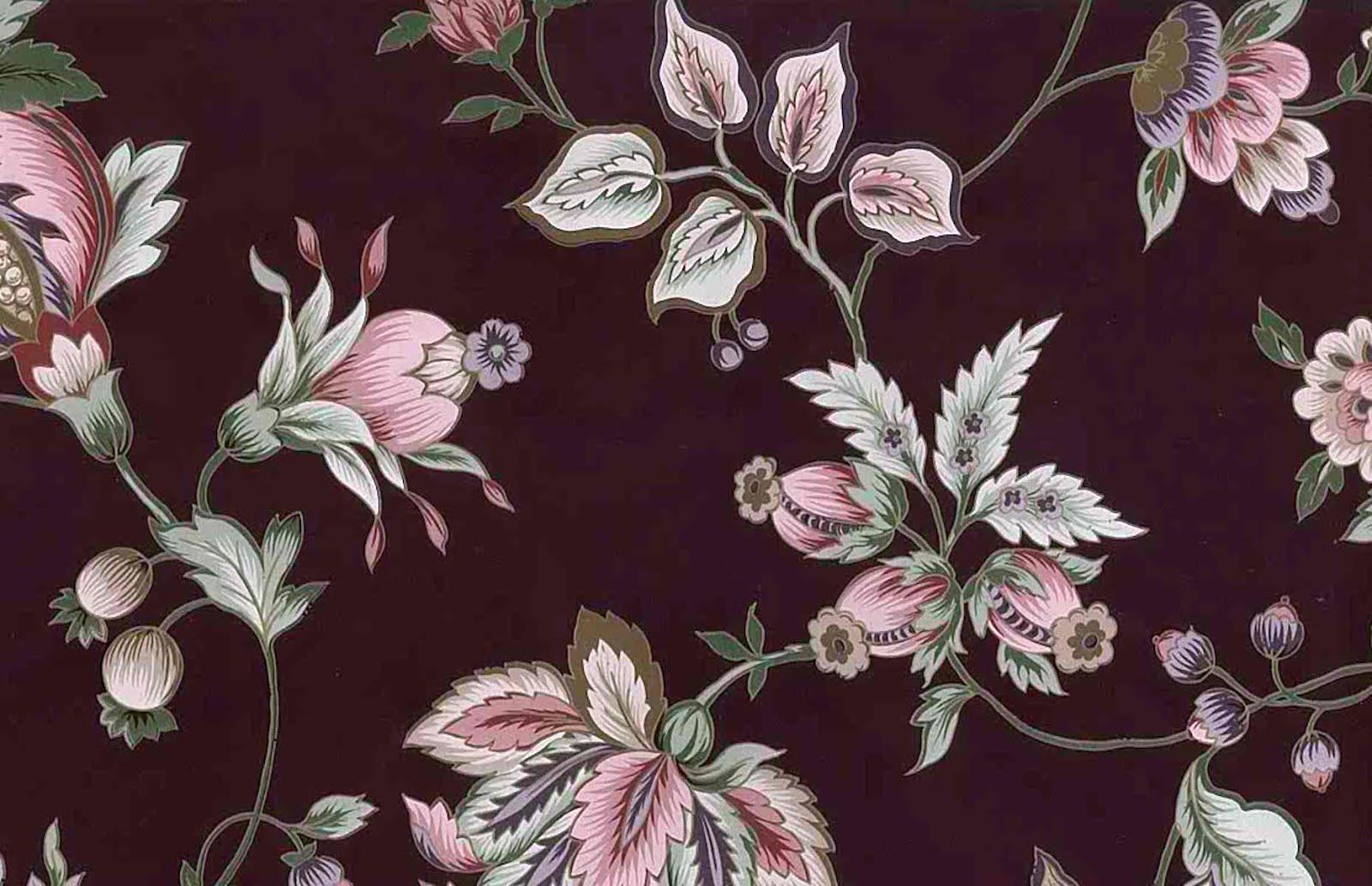Rose Gold Floral Wallpaper Hd Backgrounds Download