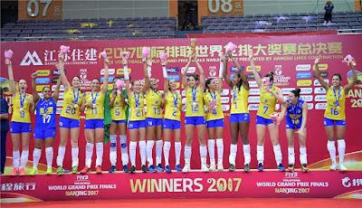 12º título seleção brasileira vôlei feminino