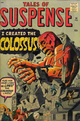 Tales of Suspense #14, Colossus