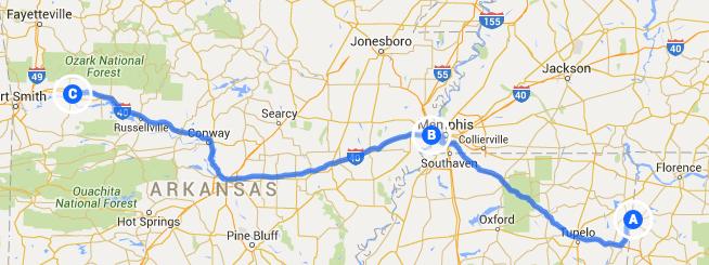 The Roadrunner Chronicles Two Days In Arkansas