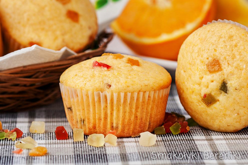 Muffiny z cytryną i pomarańczą