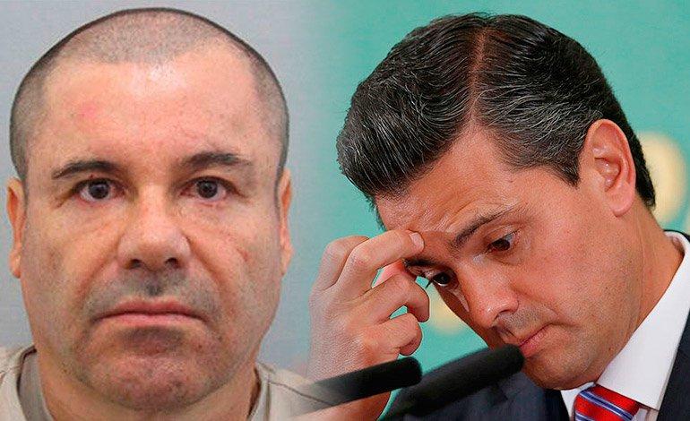 Tiemblan en los pinos El Chapo financió Campaña de EPN en 2012