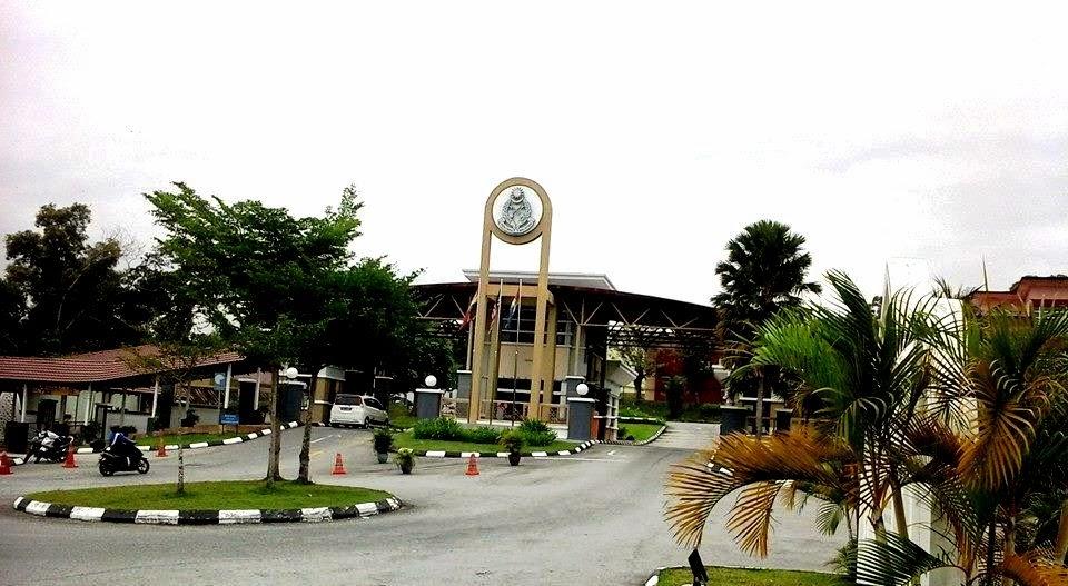 Pintu masuk Ibu Pejabat Penjara Malaysia dan Penjara Kajang, Jabatan Penjara Malaysia
