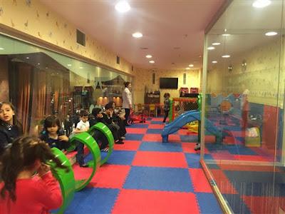 çocuk oyun alanı olan restoranlar