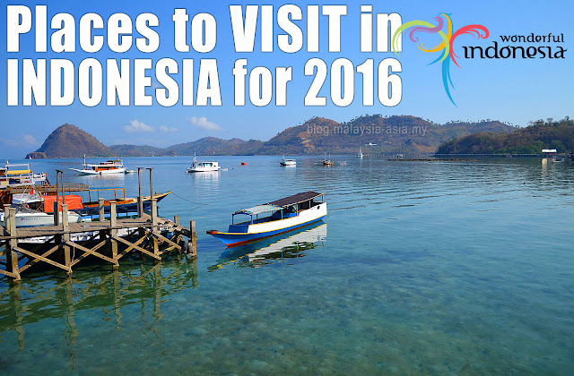 Where to go in Indonesia 2016