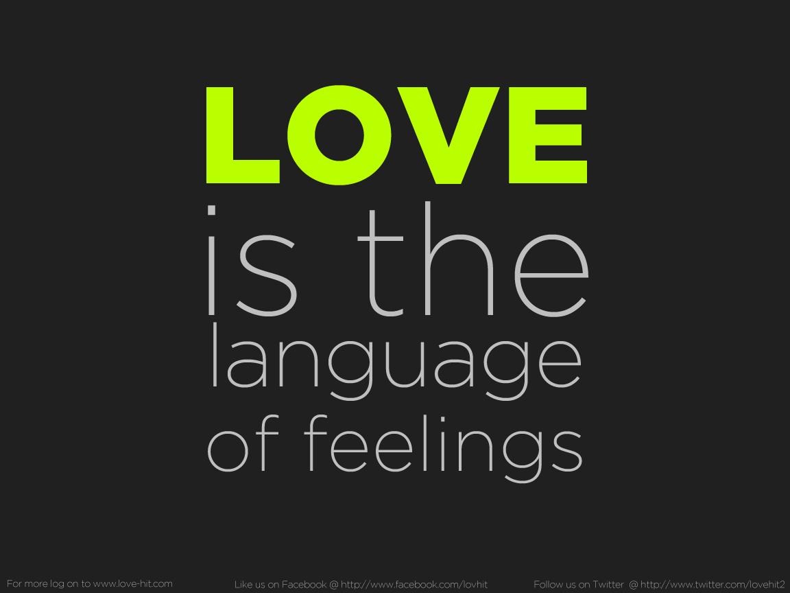 Love A Great Feeling