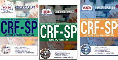concurso público CRFSP - Conselho Regional de Farmácia do Estado de São Paulo