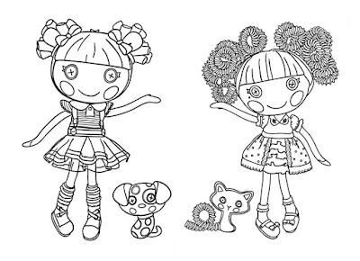 Lalaloopsy%2B8 Desenhos para Colorir da Lalaloopsy – Imagens para Imprimir e Pintar